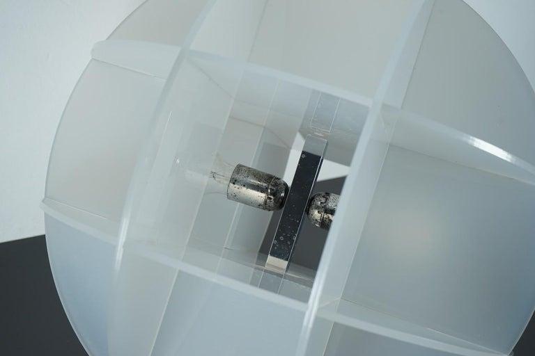 Modern Gianfranco Fini Lamp Model Quasar Edition New Lamp, Italy For Sale