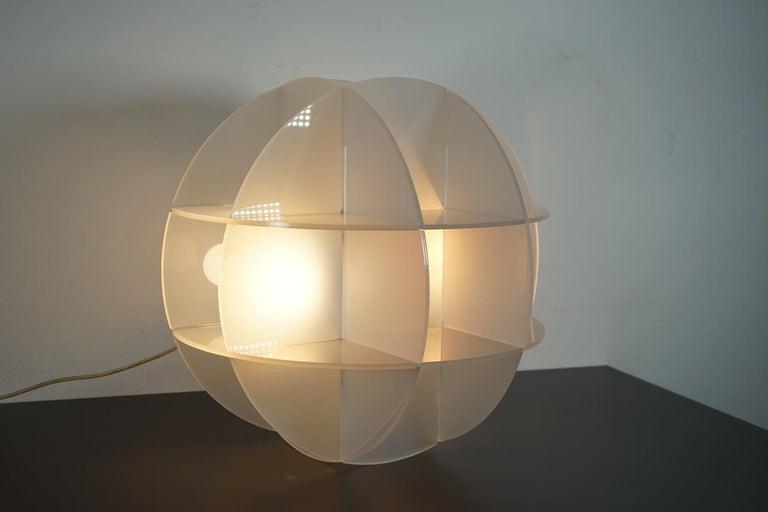 Italian Gianfranco Fini Lamp Model Quasar Edition New Lamp, Italy For Sale