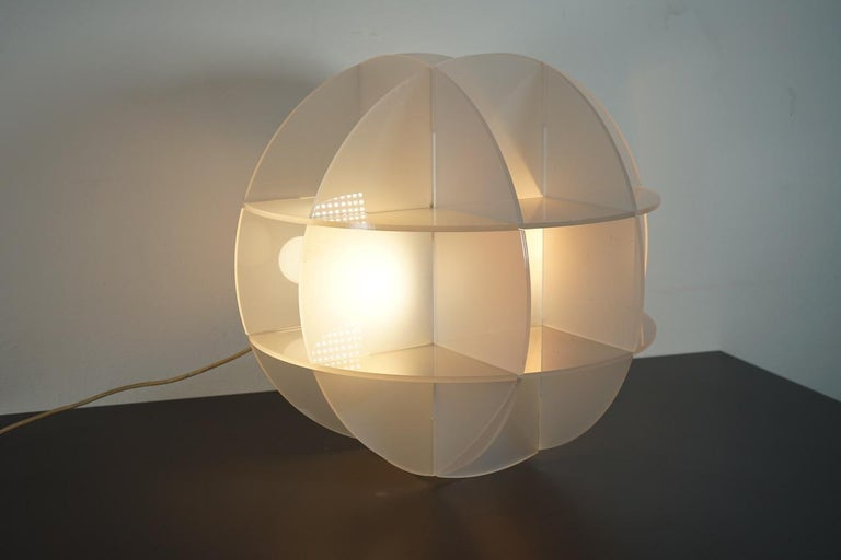 Gianfranco Fini Lamp Model Quasar Edition New Lamp, Italy In Excellent Condition For Sale In Milan, Italy