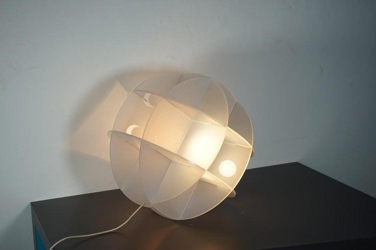 Gianfranco Fini Lamp Model Quasar Edition New Lamp, Italy For Sale 1
