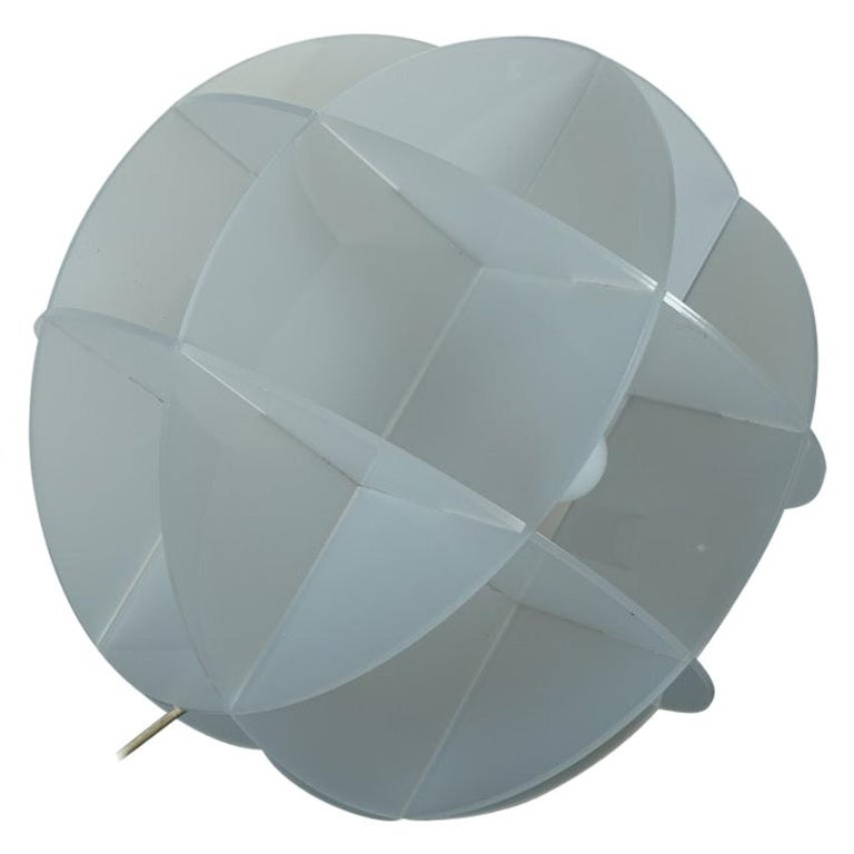 Gianfranco Fini Lamp Model Quasar Edition New Lamp, Italy For Sale