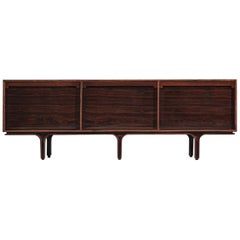 Gianfranco Frattini for Bernini Credenza with Tambour Doors