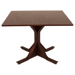 Gianfranco Fratini, Midcentury, Dining Table, Rosewood, Bernini, 1950s, Italy