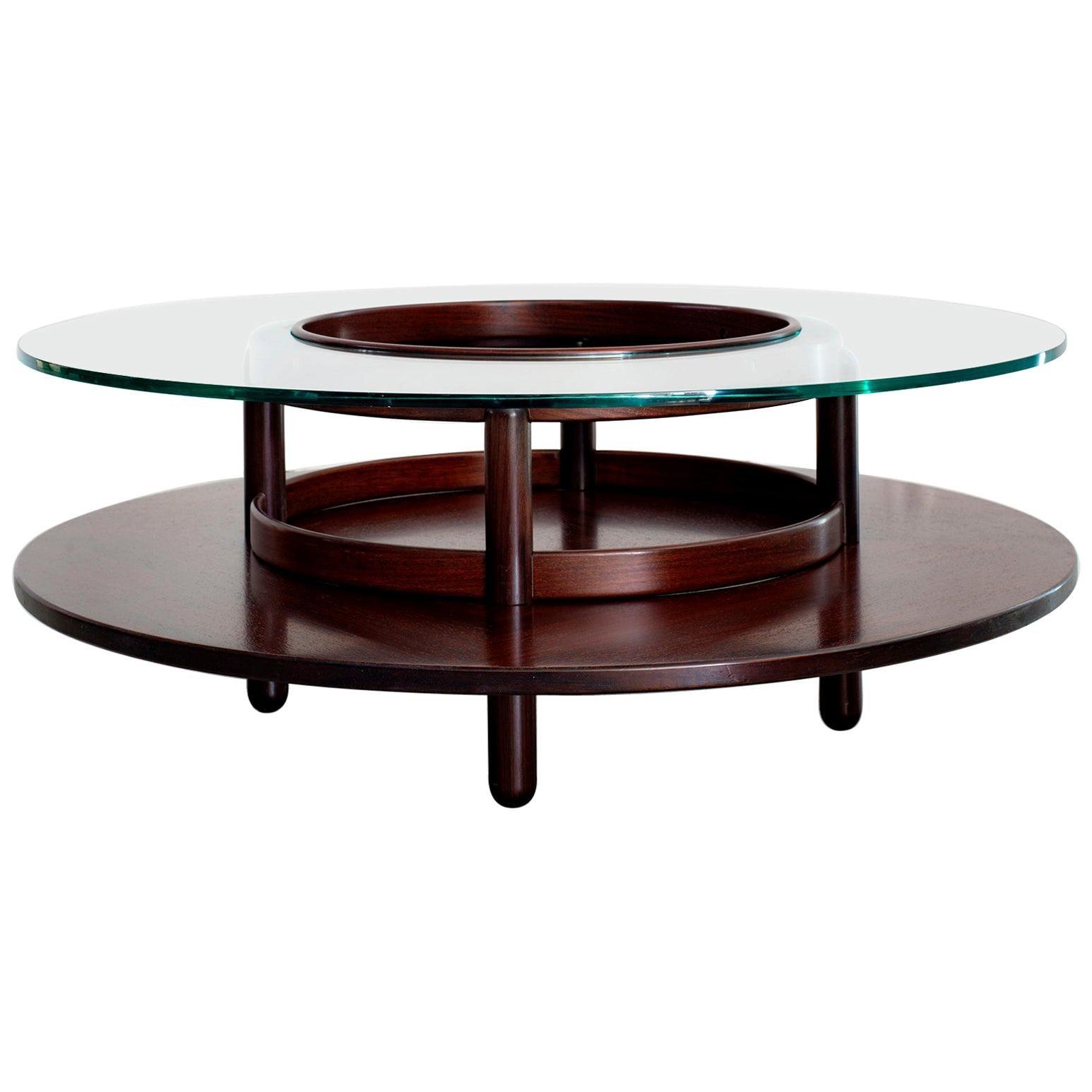 Gianfranco Frattini Attributed Coffee Table