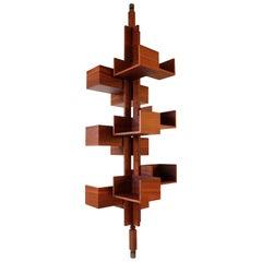 Gianfranco Frattini Tree Model Bookcase, Italy