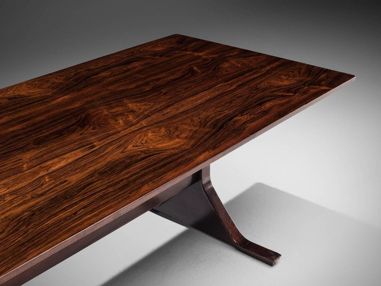 Gianfranco Frattini Dinner Table, circa 1960s In Good Condition For Sale In Waalwijk, NL