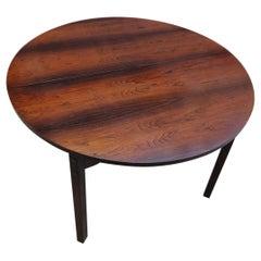 Gianfranco Frattini Extendable Dining Table Wood Iron, 1955, Italy