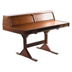 Gianfranco Frattini for Bernini Midcentury Italian Writing Desk Mod.530