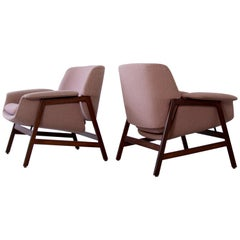 """Gianfranco Frattini for Cassina Set of 2 """"Model 849"""" Chairs, 1958"""