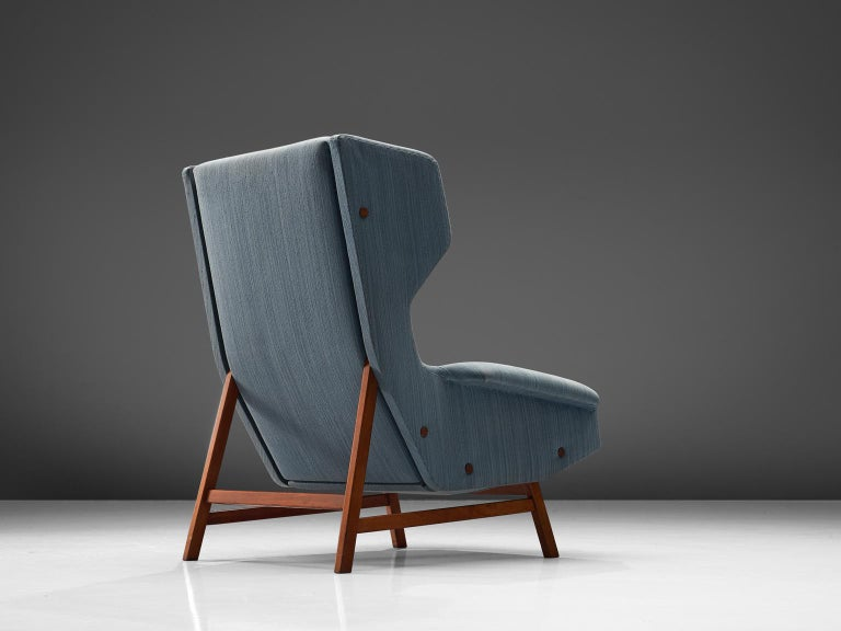 Mid-Century Modern Gianfranco Frattini Lounge Chair for Cassina For Sale