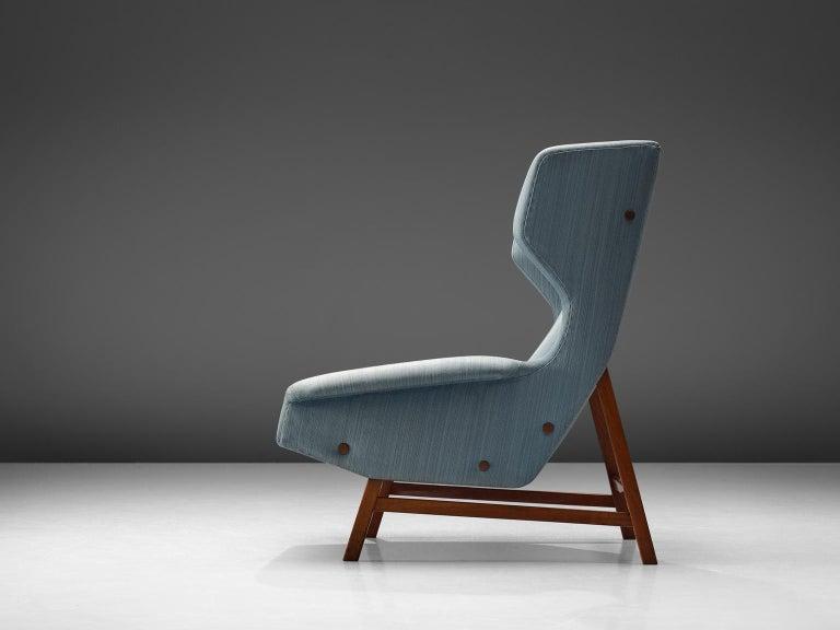 Italian Gianfranco Frattini Lounge Chair for Cassina For Sale