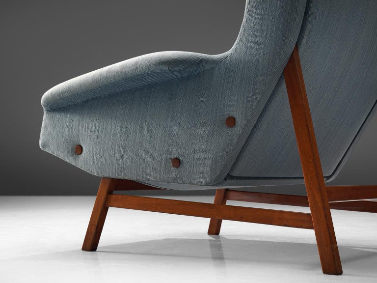 Gianfranco Frattini Lounge Chair for Cassina In Good Condition For Sale In Waalwijk, NL