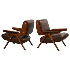 Gianfranco Frattini Lounge Chairs