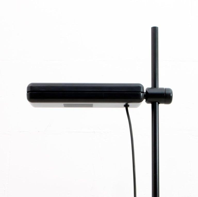 Lacquered Gianfranco Frattini Postmodern Italian RT3 Floor Lamp for Relco Milano, 1980s For Sale