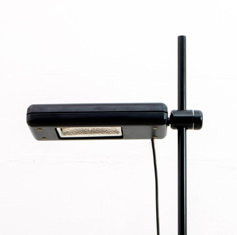Metal Gianfranco Frattini Postmodern Italian RT3 Floor Lamp for Relco Milano, 1980s For Sale