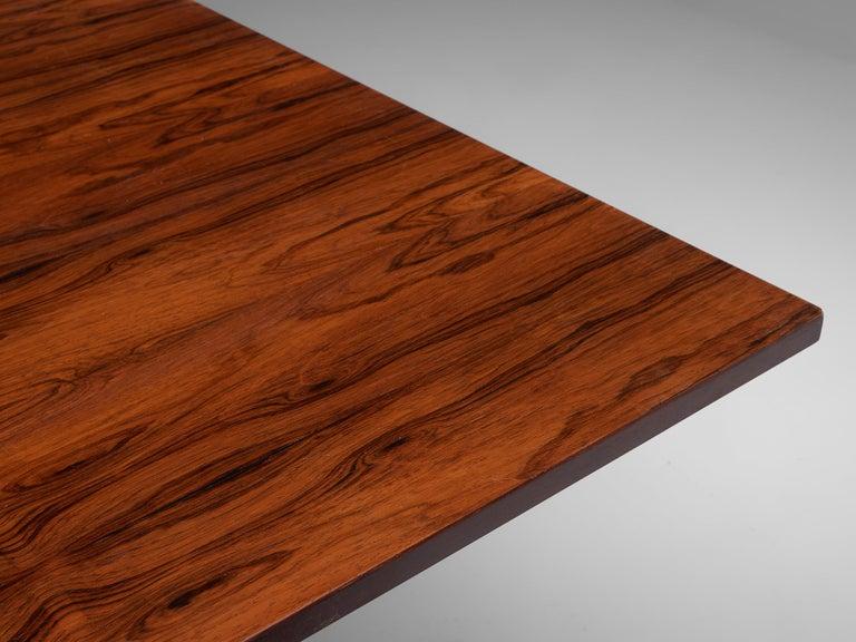 Gianfranco Frattini Rosewood Table, circa 1960s For Sale 4