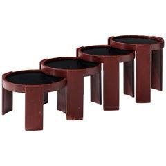 Gianfranco Frattini Set of Four '780' Nesting Tables