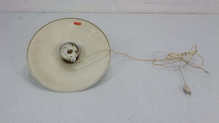 Gianluigi Gorgoni Model Disco Wall or Ceiling White Lamp for Stilnovo, 1970 For Sale 13