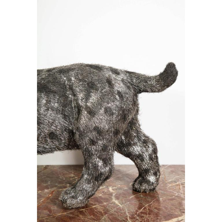 Gianmaria Buccellati, a Rare and Exceptional Italian Silver Bobcat For Sale 2