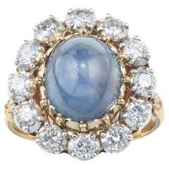 Gianmaria Buccellati Diamond and Sapphire Ring