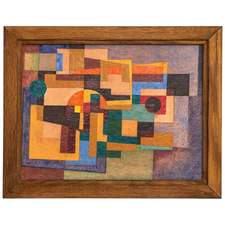 "Giannai Medici Oil Painting ""Soft-Machine"" For Sale"