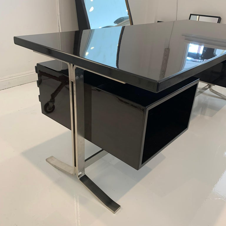 Steel Gianni Moscatelli Platform Desk for Formanova