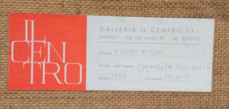 Fendi Shopping Bag Landscape  (Italian, Modernism, Mid-century, Red, Fashion) For Sale 9