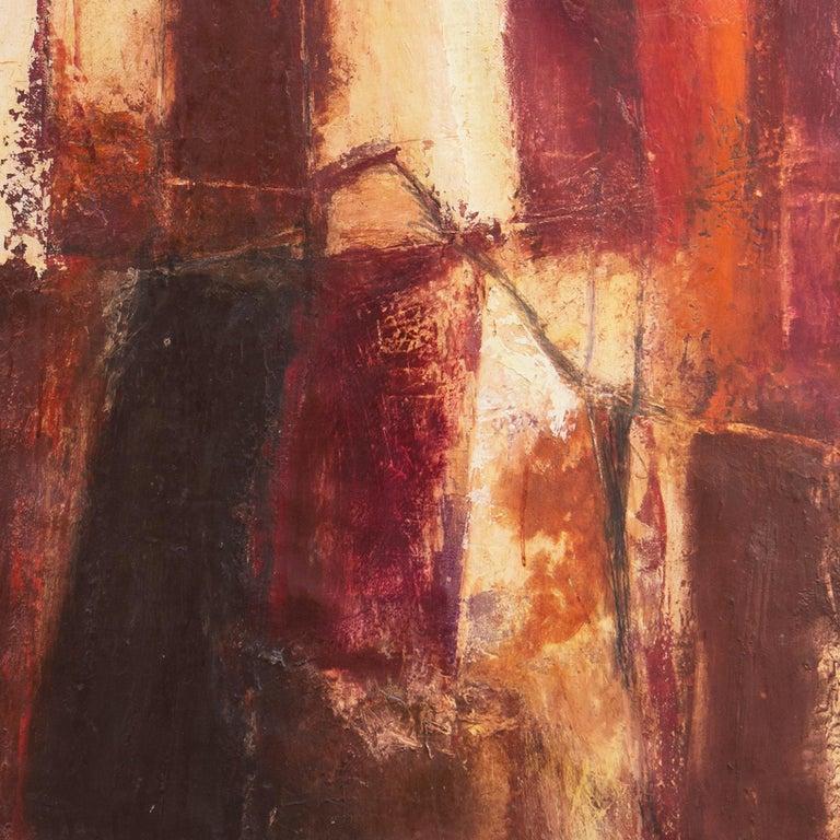 Fendi Shopping Bag Landscape  (Italian, Modernism, Mid-century, Red, Fashion) For Sale 3