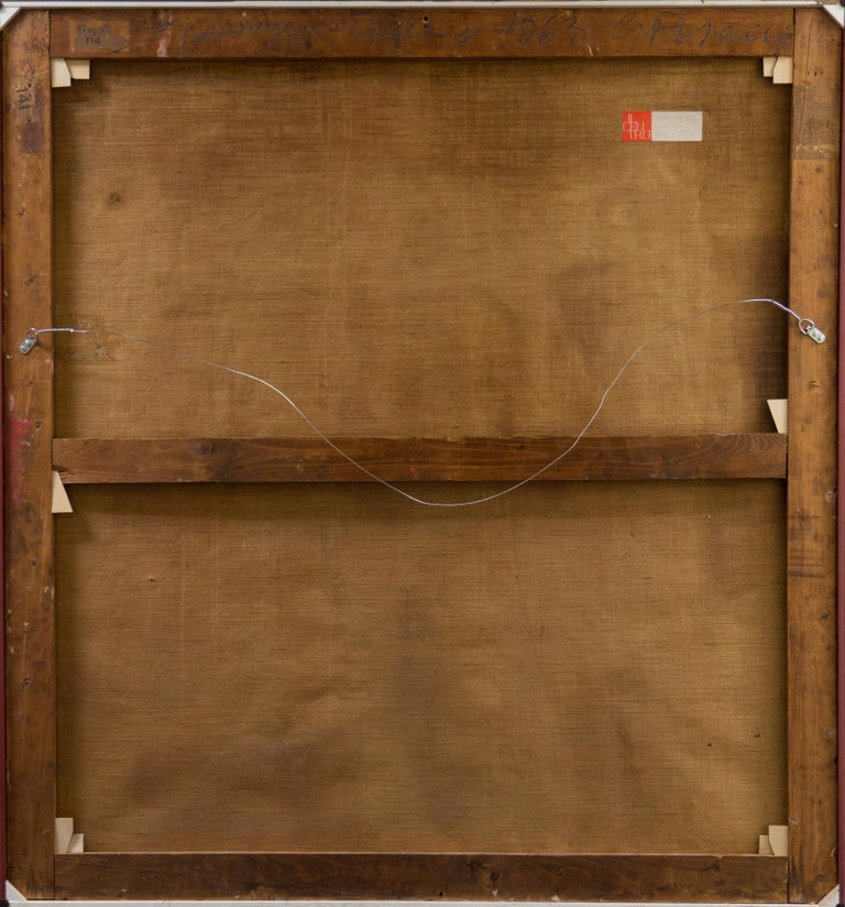 Fendi Shopping Bag Landscape  (Italian, Modernism, Mid-century, Red, Fashion) For Sale 5