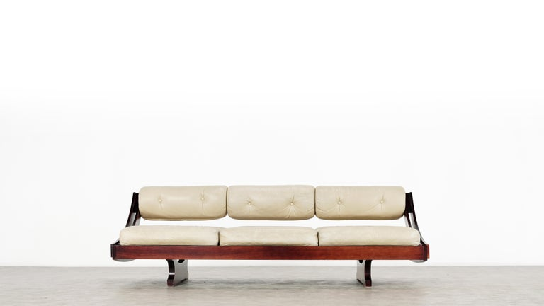 Gianni Songia, Daybed GS 195 and Sofa, 1963 for Sormani, Handmade in Italy For Sale 8