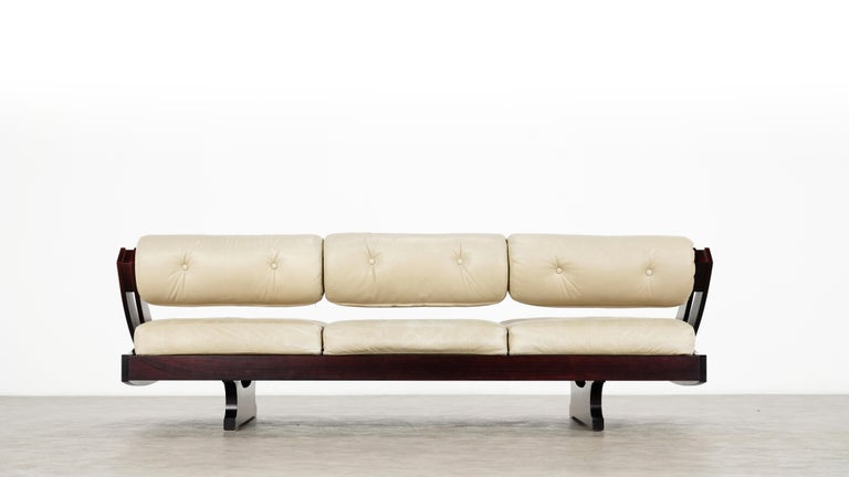 Gianni Songia, Daybed GS 195 and Sofa, 1963 for Sormani, Handmade in Italy For Sale 10
