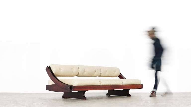 Mid-Century Modern Gianni Songia, Daybed GS 195 and Sofa, 1963 for Sormani, Handmade in Italy For Sale