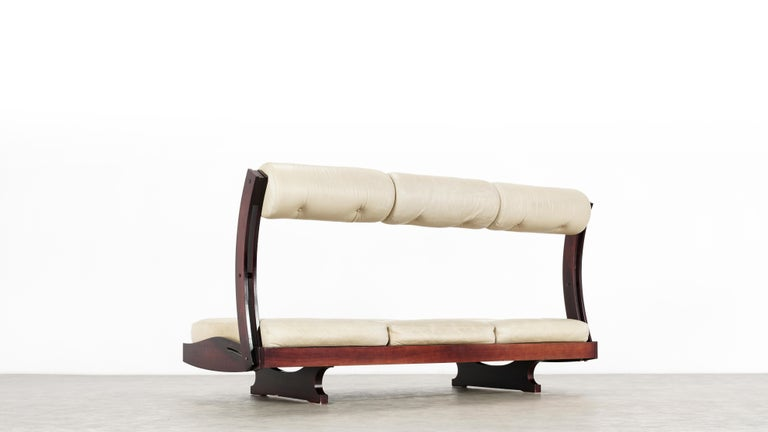 Gianni Songia, Daybed GS 195 and Sofa, 1963 for Sormani, Handmade in Italy For Sale 1