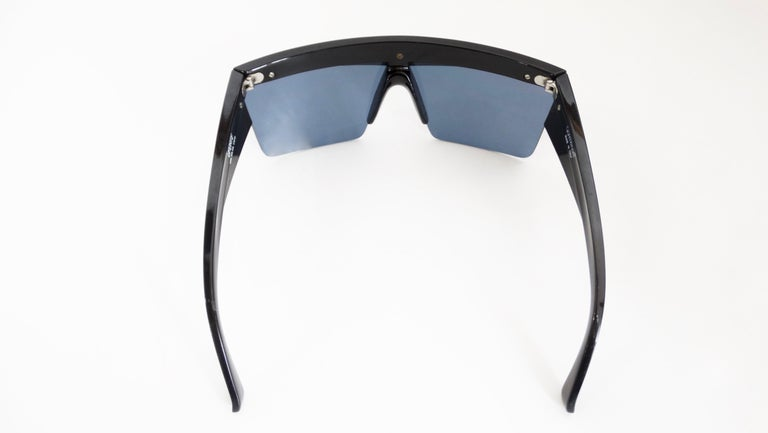 Gianni Versace 1980s Silver Update Sunglasses For Sale 1