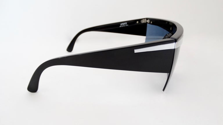 Gianni Versace 1980s Silver Update Sunglasses For Sale 2