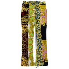 Gianni Versace 1990s Patchwork Pants