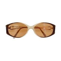 Gianni Versace 1990s Gradient Frame Sunglasses