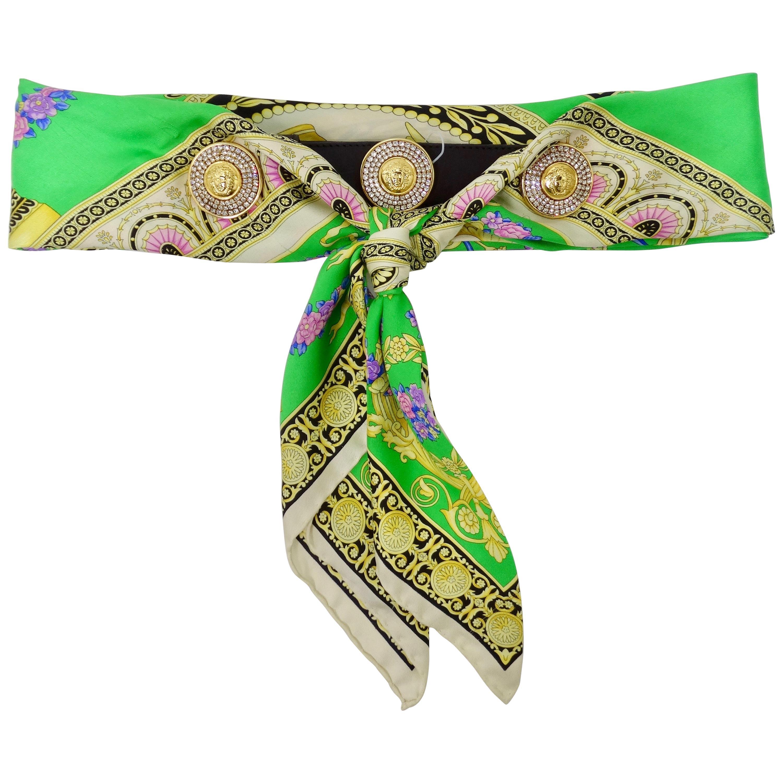 Gianni Versace 1990s Scarf Belt