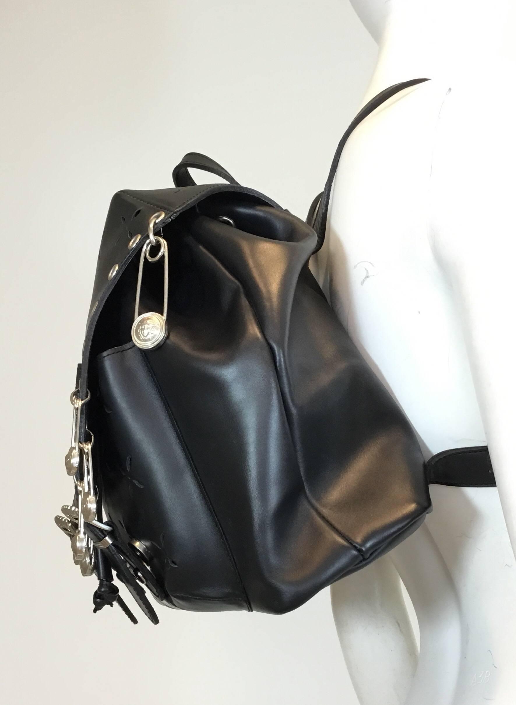 Versace 94 Medusa Safety Pin Vintage Backpack Bag v2SxJuab