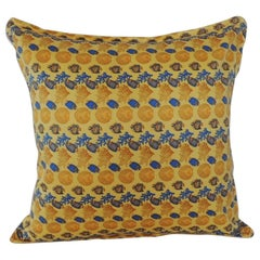 Gianni Versace Authentic Seashells and Coral Printed Decorative Pillow