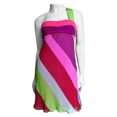 Gianni Versace Babydoll Silk Dress