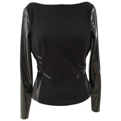 Gianni Versace Black Wool T- Shirt