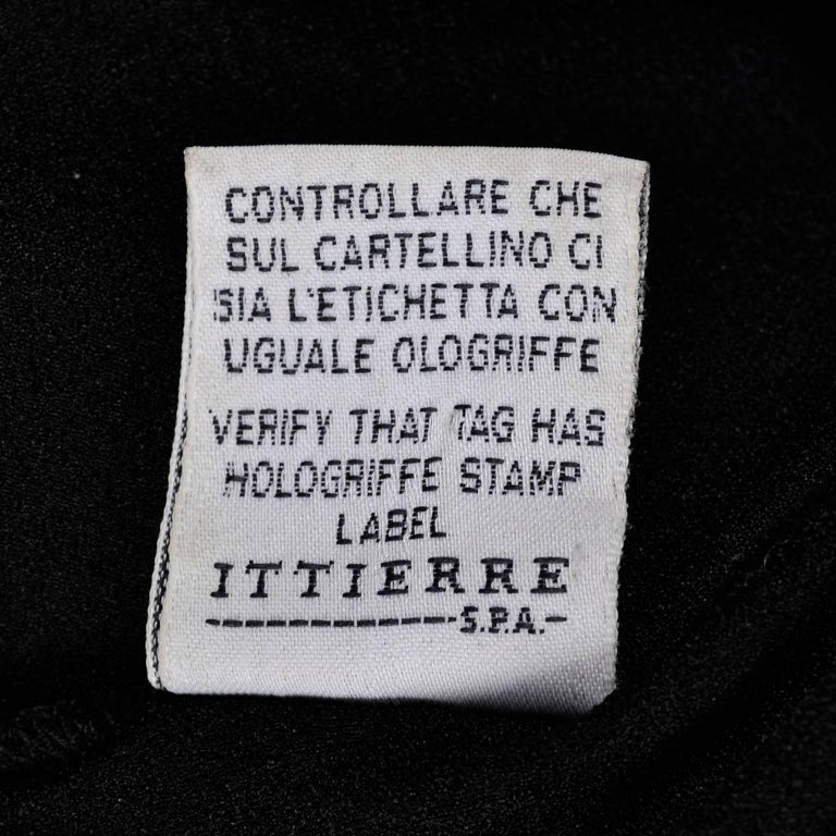 Gianni Versace Bodysuit Versace Jeans Couture Logo Top w Medusa Logo  For Sale 5