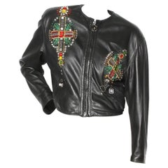 Gianni Versace Byzantine Moto Jacket