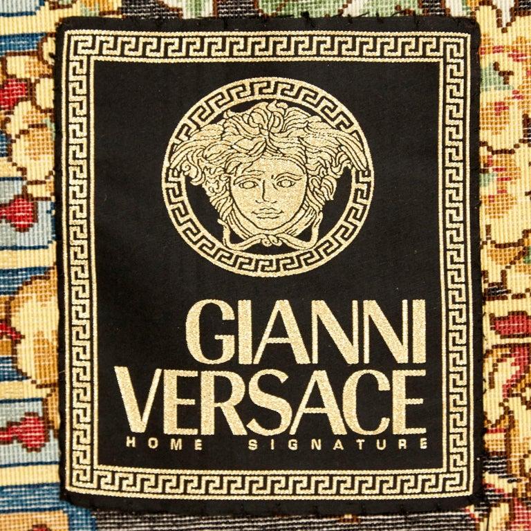 Gianni Versace Collection Rug Mandarin's Garden Silk, circa 1980 For Sale 6