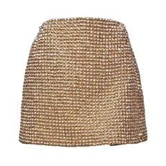 Gianni Versace Couture Golden Jewel Skirt AW 1994