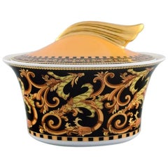 Gianni Versace for Rosenthal, Small Barocco Tureen in Porcelain