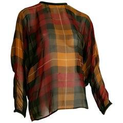 Gianni VERSACE Haute Couture unique piece silk chiffon shirt - Unworn, New