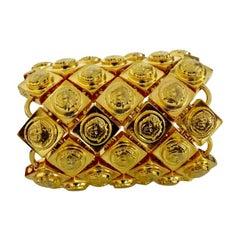 Gianni Versace Iconic Medusa Wide Bracelet Cuff