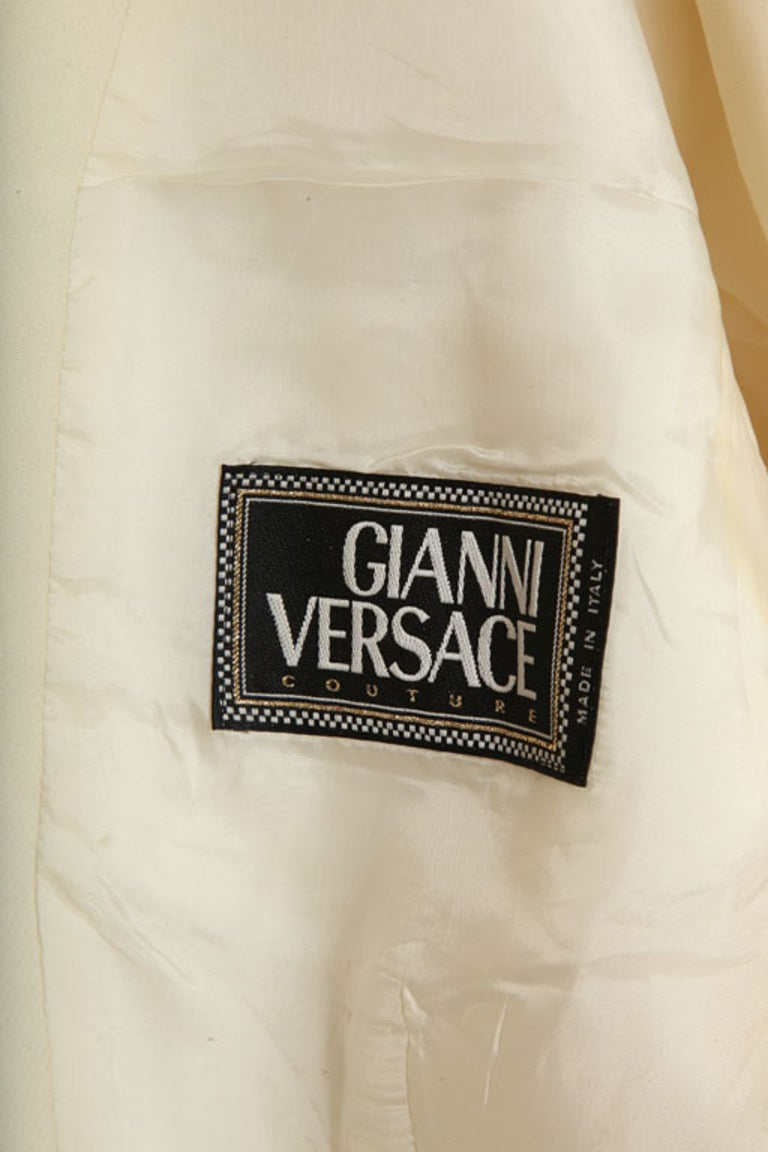 Gianni Versace Jacket with Medusa Buttons For Sale 4